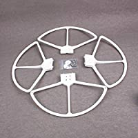 Drone Fans 2 Pairs Phantom 3 Quick Release Blade Propeller Guards Prop Protectors Bumper Shields Ring for DJI Phantom 3 (White,Red,Green,Black,Gold,Blue)