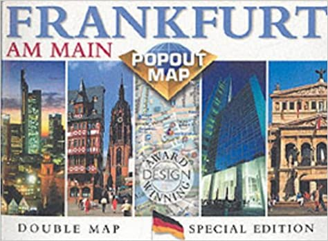 Popout Map Frankfurt Am Main Europe Popout Maps Map Group