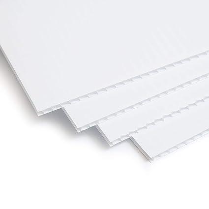 Amazon.com: Coroplast - Cartel de plástico corrugado para ...