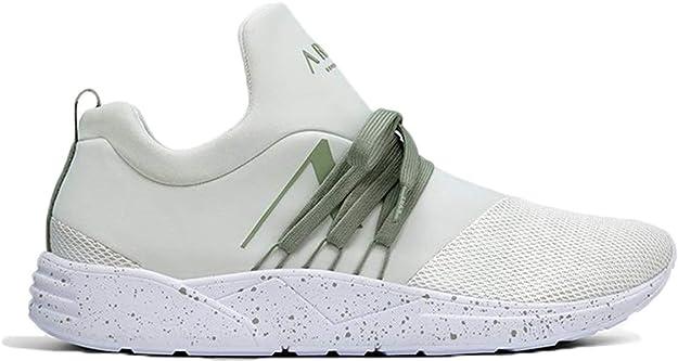 ARKK Copenhagen AS1448-1028-M - Sneaker - Raven S-E15 White Granite Green - GRÜN - Herren