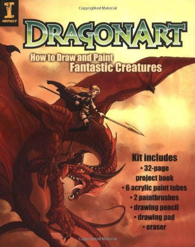 Still Life Shells - DragonArt Kit: How to Draw and Paint Fantastic Creatures
