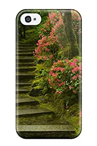 4932721K58408327 Defender Case For Iphone 4/4s, Japanese Garden Washington Park Pattern