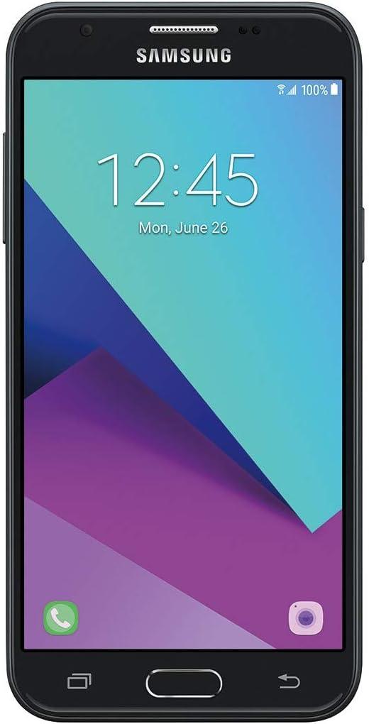 Amazon Com Samsung Galaxy J3 Prime J327a 16gb 1 5 Ram 5 Full Hd Display Dual Camera 2 600 Mah Battery Android 7 0 Nougat 4g Lte Gsm Unlocked Smartphone Black