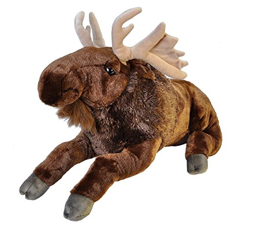 Wild Republic Jumbo Moose Plush, Giant Stuffed Animal, Plush Toy, Gifts for Kids, 30 Inches]()