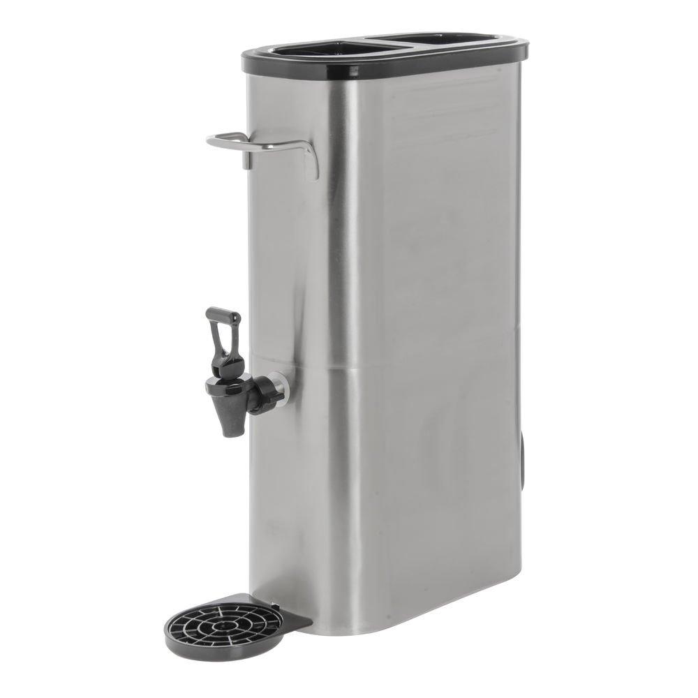 HUBERT Iced Tea Dispenser 3 Gallon Slim Stainless Steel