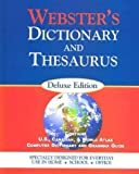 Webster's Dictionary and Thesaurus, Webster's New World Staff, 157755244X