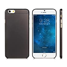GENERIC 4.7'' Ultra-thin Plastic Back Cover Case for iPhone 6 (BLACK)