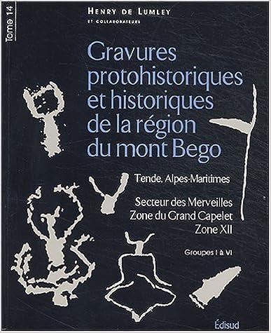 Gravures protohistoriques et historiques de la région du mont Bégo : Tome 14, Secteur des Merveilles, Zone du Grand Capelet, Zone XII, Groupes I à VI epub, pdf