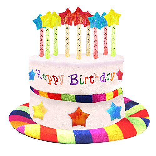 Novelty Happy Birthday Hat Fancy Dress (Fancy Birthday Hats)