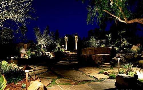 4 PCK LED LOW VOLTAGE Solid Brass WELL Light Architectural Landscape Lighting