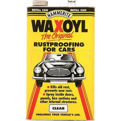 Hammerite Waxoyl Rustproofing Clear 5 Litre