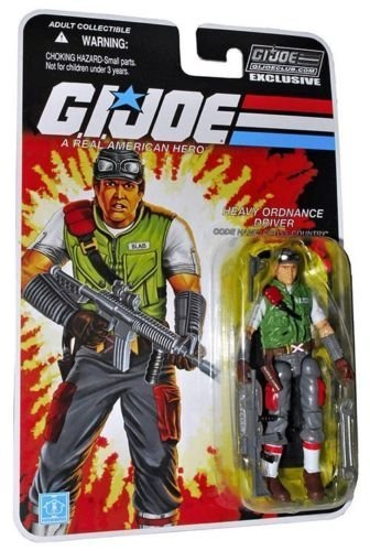 G.I. JOE Collectors Club Carded CROSS COUNTRY Action (Gi Joe Carded)