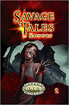 Book Savage Tales of Horror Vol.1 (Savage Worlds, S2P10550LE)