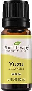 Plant Therapy Yuzu Essential Oil 10 mL (1/3 oz) 100% Pure, Undiluted, Therapeutic Grade