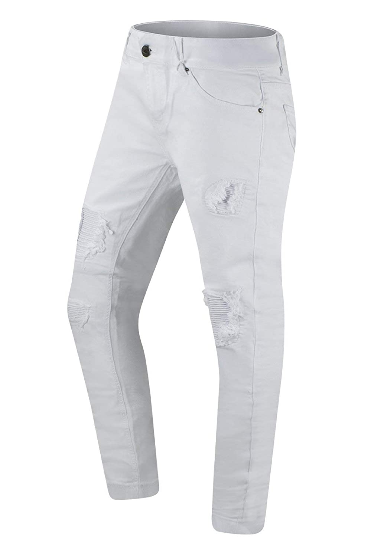 New Men Biker Premium Denim Jeans Skinny Fit