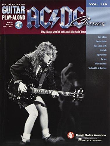 AC/DC Classics: Guitar Play-Along Volume 119 (Guitar Play Along Book)