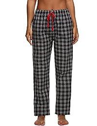Ekouaer Sleepwear Womens Comfort Plaid Pajama Pants Lounge Bottoms XS-XL