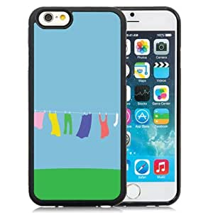 New Personalized Custom Designed For iPhone 6 4.7 Inch TPU Phone Case For Clothing Hanging On A Clothesline Phone Case Cover