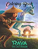 Raya and the Last Dragon Coloring Book: A Trending