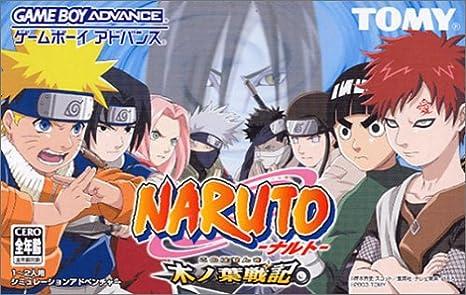 Amazon.com: NARUTO: KI NO HA SENKI FOR GBA SP [JAPANESE ...