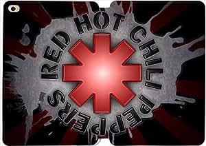 iPad Mini 4 funda,[PU del tirón del cuero] Red hot chili peppers [Theme] OO2739