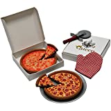 18 Inch Doll Pizza Night Set. Pepperoni & Cheese Pizzas, Pizza Boxes, Pan, Pizza Cutter & Oven Mitt. Food & Accessory Set Fits American Girl