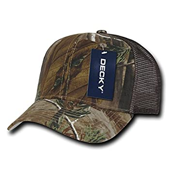 Decky Curve Bill Trucker Baseball Cap, Real Tree Real Tree Brown, Nicht 85143ea9d9