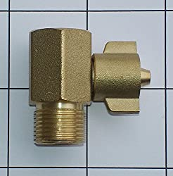 BootySaver Bidet Brass T-Connector Tap Fitting for Sink Connection Hot or Cold Line
