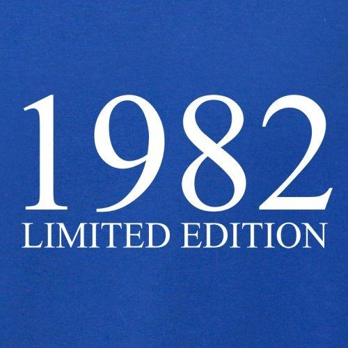 1982 Limierte Auflage / Limited Edition - 35. Geburtstag - Damen T-Shirt - Royalblau - XXL