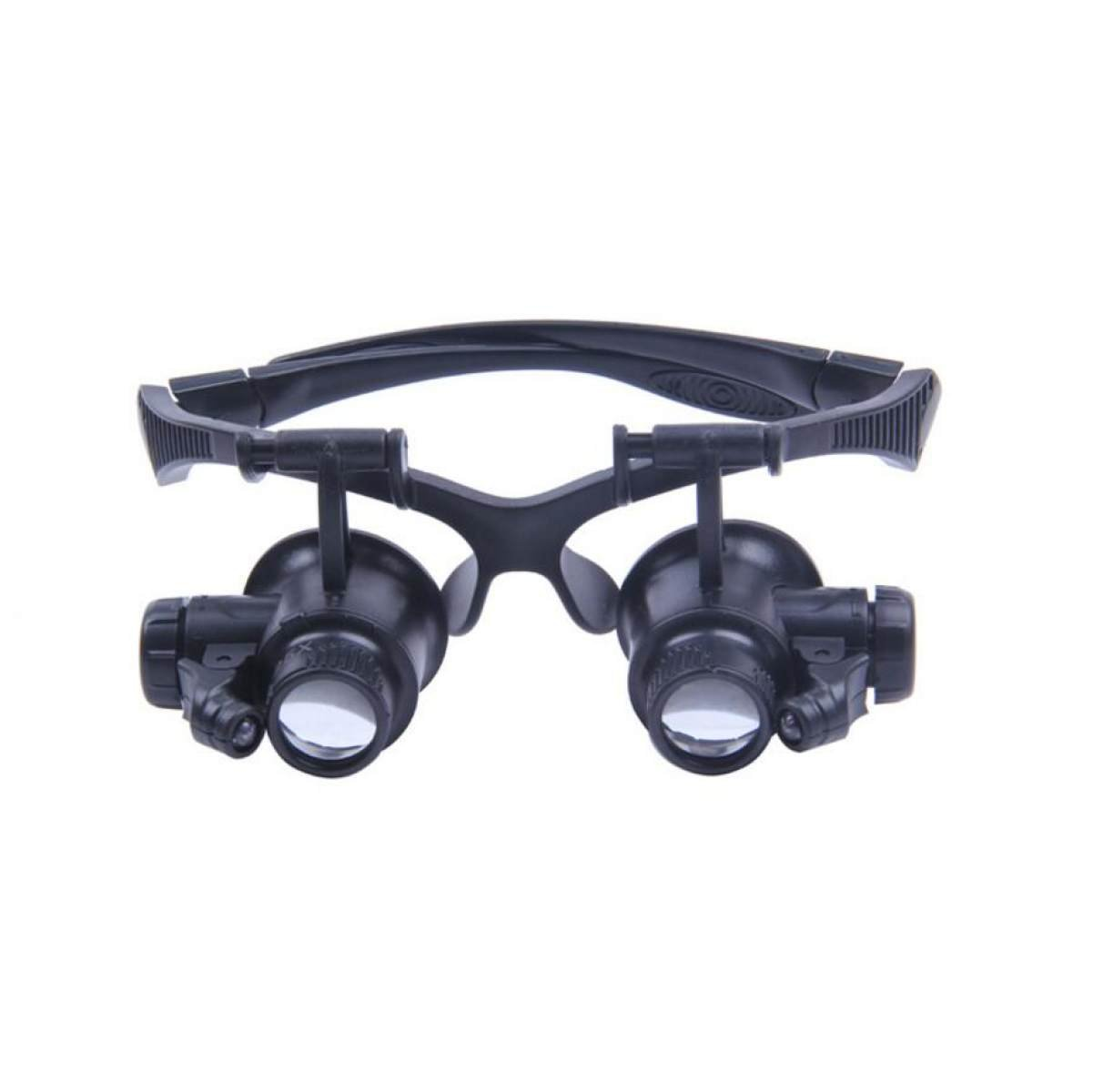 Magnifying Glass Binocular Lighting Goggles Magnifying Glass LED Spectacle Watch Repair Magnifying Glass Reading Magnifying Glass Elderly Children Christmas Gifts