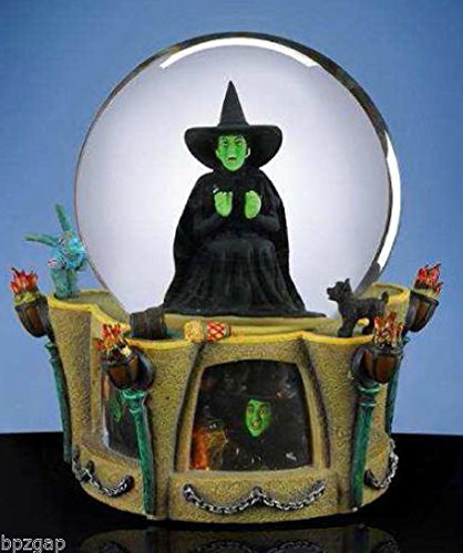Wizard of Oz Wicked Witch I'm Melting Globe SF Music Box Co