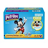 Health & Personal Care : Pull-Ups Learning Designs Training Pants for Boys, 2T-3T, 74 Count (Contains Plush Toy)