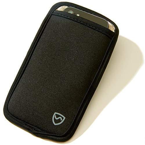 SYB Phone Pouch, Cell Phone EMF Protection Holster Sleeve Phones up to 2.75'' Wide Belt Hoop by SYB (Image #8)