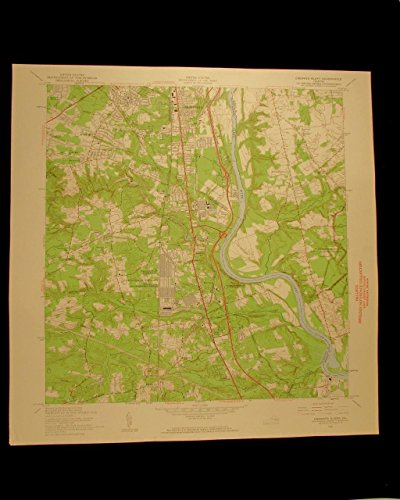 richmond-james-river-drewrys-bluff-virginia-vintage-1959-usgs-topo-chart