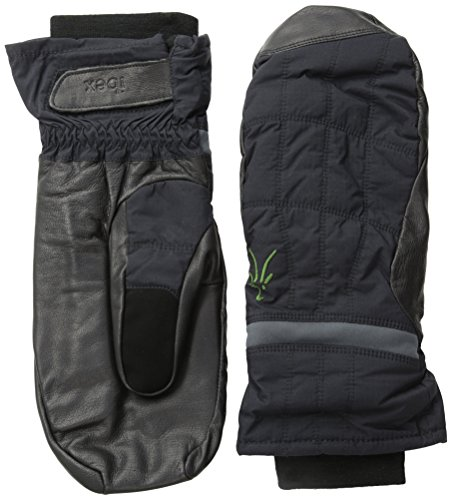 Ibex Outdoor Clothing Wool Aire Mitten, Black, X-Small by Ibex
