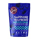 Suncore Foods - 100% Pure Wolfberry Black Goji Berry Natural Supercolor Powder