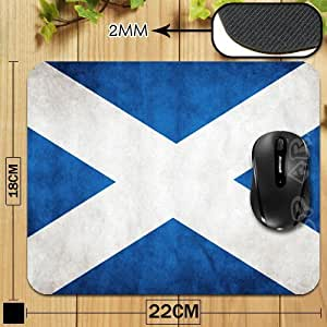 Scotland Flag New Anti-Slip PC Laptop Mouse Pad Mat Mice Pad for Optical Trackball Laser Mouse