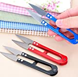 Liroyal 5 pcs New Clippers Sewing Trimming Scissors Nipper Embroidery Thrum Yarn Fishing Thread Beading Cutter