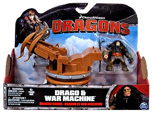 DreamWorks Dragons Dragon Coureurs Drago & War Machine Spin Master