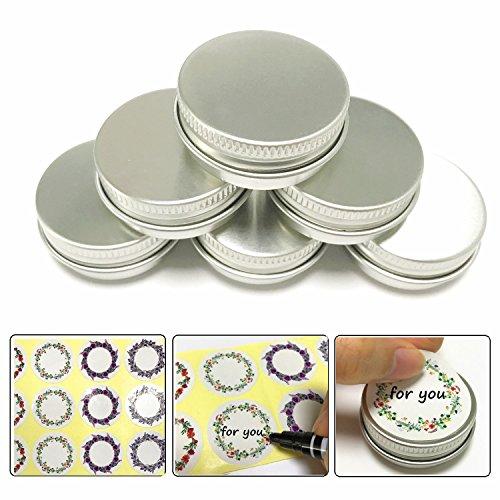 Aluminum Lip Balm Containers - 7