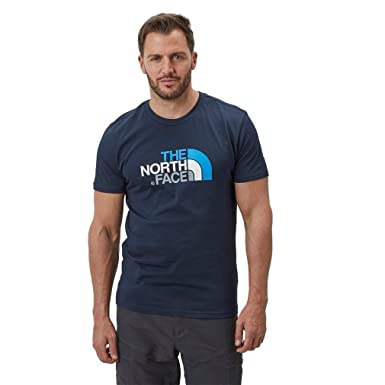 cfee1b231 The North Face Men's Easy Short Sleeve T-Shirt, Navy, XXL: Amazon.co ...
