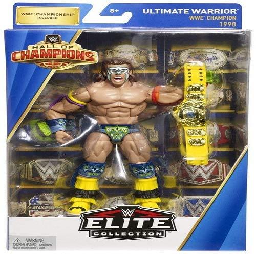 (WWE Elite Hall of Champions Ultimate Warrior WWE Champion)