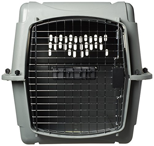 Petmate-Sky-Kennel-for-Pets-from-25-to-30-Pound-Light-Gray