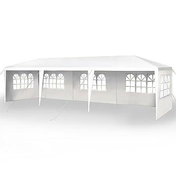 Peaktop® 30u0027x10u0027 Heavy Duty Outdoor Party Wedding Tent Canopy Gazebo Pavilion Garage  sc 1 st  Amazon.com & Amazon.com: Peaktop® 30u0027x10u0027 Heavy Duty Outdoor Party Wedding Tent ...