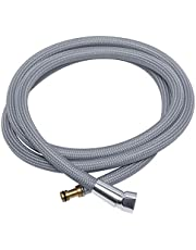 """150259 Hose Kit Compatible with Moen Pulldown Kitchen Faucets, 68"""" Strong Nylon Finish Replacement Faucet Hose Part Number #187108"""