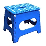 Jeronic 11-Inch Folding Step Stool, Blue