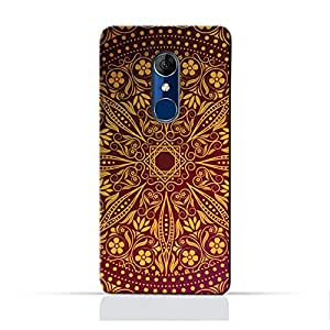 AMC Design Alcatel A3 Plus TPU Silicone Protective Case with Floral Pattern 1201