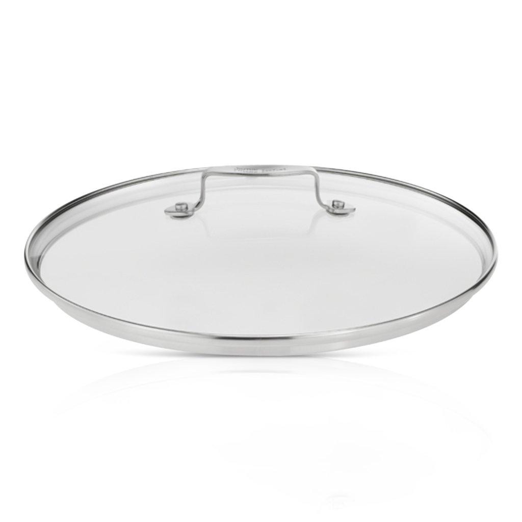 Tefal 79198 Coperchio in vetro e acciaio inossidabile da 28 cm