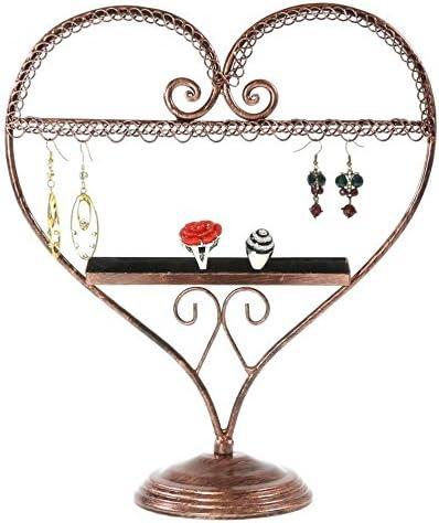 Présentoirs pour Bijoux Schmuckständer für Ohrringe und Ringe, Herzform