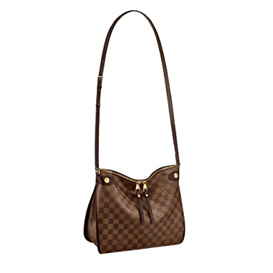 a3ea2d9ca8ad Louis Vuitton Damier Ebene Canvas Duomo Cross Body Shoulder Handbag  Article N41425 Made in France  Handbags  Amazon.com